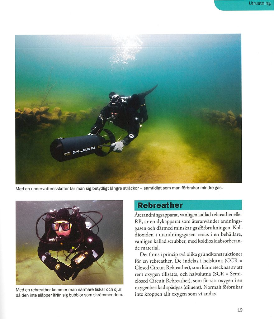 Advanced recreational diving